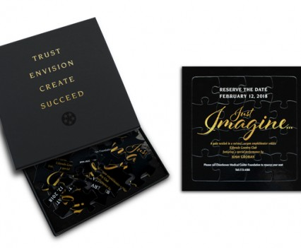 In 2018 Eisenhower is hosting their annual gala and the upcoming season's theme is Just Imagine. LITCO developed a unique, creative execution that would encourage recipients to use their imagination by putting together a puzzle to discover all the details of the event.